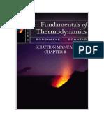 Fundamentals of Thermodynamics solutions ch08