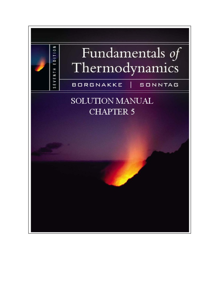 Fundamentals of thermodynamics solutions ch05 heat gases fandeluxe Choice Image