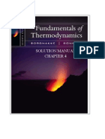 Fundamentals of Thermodynamics solutions ch04