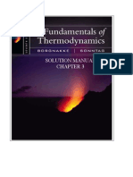 Fundamentals of Thermodynamics solutions ch03