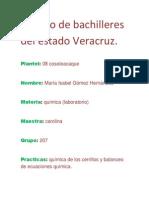 Colegio de Bachilleres Del Estado Veracruz