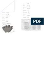 Fórmulas constructivas de los engranajes rectos