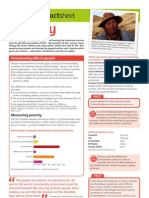 Factsheet 4 Poverty