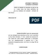 CONTESTAÇÃO ALIMENTOS PAI DESEMPREGADO