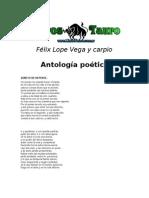 Vega y Carpio, Felix Lope - Antologia Poetica
