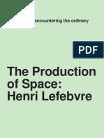 La producción del espacio Lefebvre