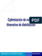 Optimizacion de rutas