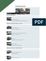 Vehículos Guardia Nacional