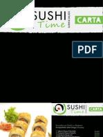Carta Sushi Time