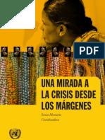 Una Mirada a la Crisis desde los Margenes