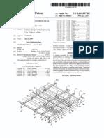 Retrofit framing system for metal roof (US patent 8061087)