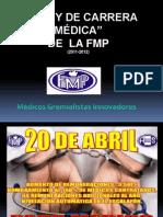 LEY DE LA CARRRERA MEDICA - Perú