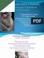 orientações para futura mamãe