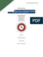 Team B BSG Game Final Paper