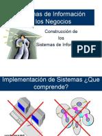 Construccion de los Sistemas de Información