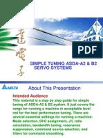Simple Tuning ASDA-A2&B2 Servo Systems