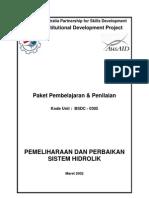 Pemeliharaan Dan Perbaikan Sistem Hidrolik