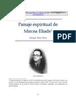 Paisaje espiritual de Mircea Eliade