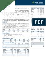 Market Outlook 30th April 2012