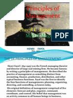 14 Principles of Management {Henri Fayol}