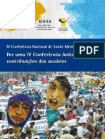 CONFERENCIA ANTIMANICOMIAL