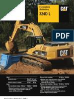 324DL_ Excavadora Cat
