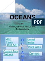 Thematic Unit on Oceans