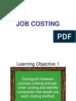 8 Job Costing