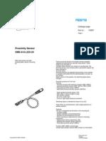 150857 Proximity Sensor SME 8
