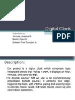 Digital Clock Powerpt