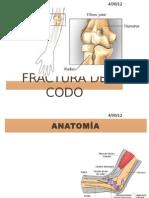 FRACTURA DE CODO