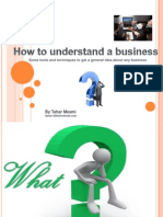 How to Understand Business