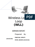 Wireless Local Loop