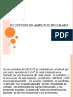 Recepcion de Amplitud Modulada