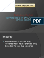Impurities in Drugs