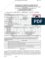 Www.dte.Org.in Mba Candidate Module FrmPrintApplicationFo
