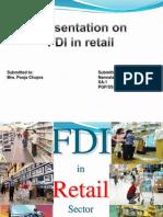 FDI in Retail Sector in India