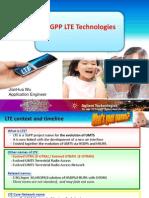 LTE Training @ IAC 110316
