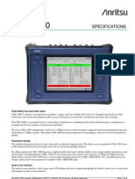 Anritsu CMA3000 Field Tester Data Sheet