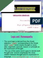 Logic Homeopathy