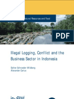 Logging and Conflict Indonesia