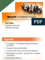8 -Microsoft IT Academy Program_KimRubbo