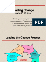 Leading Change Kotter