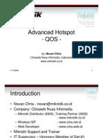 Advance Hotspot QOS