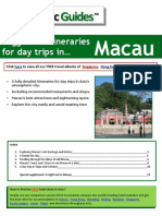 Macau - Suggested day trips