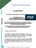 15 Congreso Regional PP Madrid
