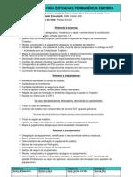 Lista de Documentos a Entregar