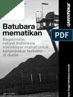 Report Batubara Mematikan