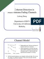 Non Coherent Detection
