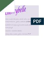 CHERRYBELLE iis
